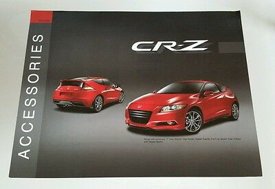 2010 Honda CR-Z Accessories Catalog Brochure Sheet