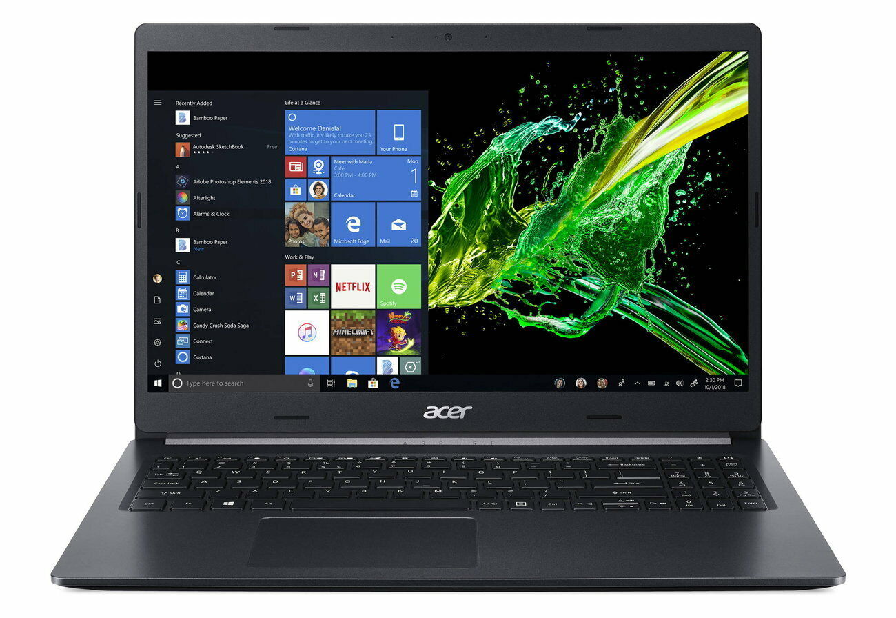 PORTATIL ACER ASPIRE 5 A515-54-75EB i7-10510U 8GB DDR4 SSD 512GB FULL HD W10