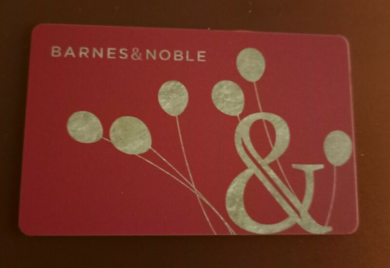 BARNES & NOBLE, CLASSIC RED BIRTHDAY, Gift Card, 2021, Collectible Mint, PVC