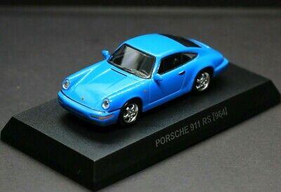 Kyosho 1/64 Porsche Collection 6 Porsche 911 Carrera RS 964 Blue