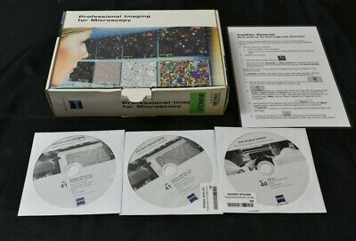 Zeiss Microscope Professional Imaging For Microscopy Axiovision Software 4.8.3