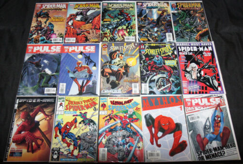 SPIDER-MAN MIXED MODERN AGE COMIC LOT 70PC (VF-NM)