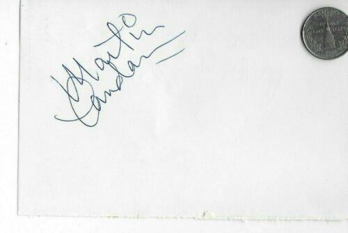 MARTIN LANDAU In Person Authentic Vintage Autograph  (# Y4 )