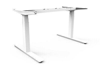 Height Adjustable Sit Stand Desk Frame 2-motor Adjustable Width Programmable Rc