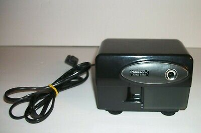 Panasonic Kp-310 Auto-stop Electric Pencil Sharpener Black W Suction Cup Feet