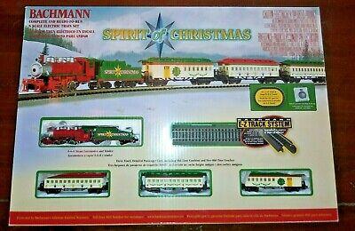 Bachmann Spirit Of Christmas N scale gauge Train set original box SEE VIDEO!