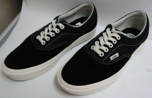 Vans ComfyCush Ripstop Era B&W Skate Shoes Suede/Textile Uppers M-6.5/W-8.0 NWOB