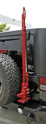 Rampage 86612 Rear Door Hi-Lift Jack Mount Kit for Jeep Wrangler JK - Jeep Hi Lift Jack