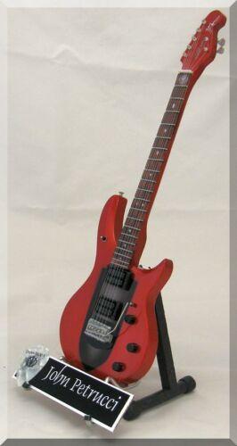 JOHN PETRUCCI Miniature Guitar Music Man Dream Theater w/ Guitar Pick