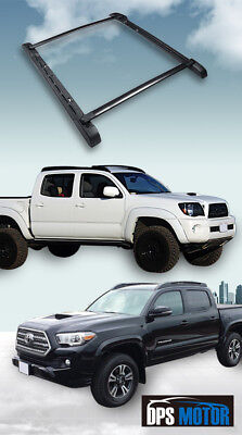 OE Style Roof Rail Rack Cross Bars Luggage For 05-18 Toyota Tacoma Double Cab