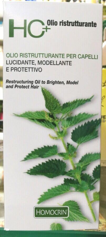HC+ Olio Ristrutturante per Capelli, Lucidante, Modellante e Protettivo, 150 ml