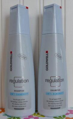 Two Goldwell Regulation Anti-dandruff Shampoo