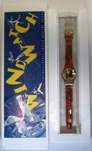 Swatch special Wind Watch Auction Luzern 1993 oro - Italia - Swatch special Wind Watch Auction Luzern 1993 oro - Italia