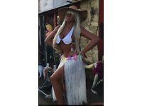 Life size Hawaiian statue/Mannequine ideal shop prop/sun bed shop/pub