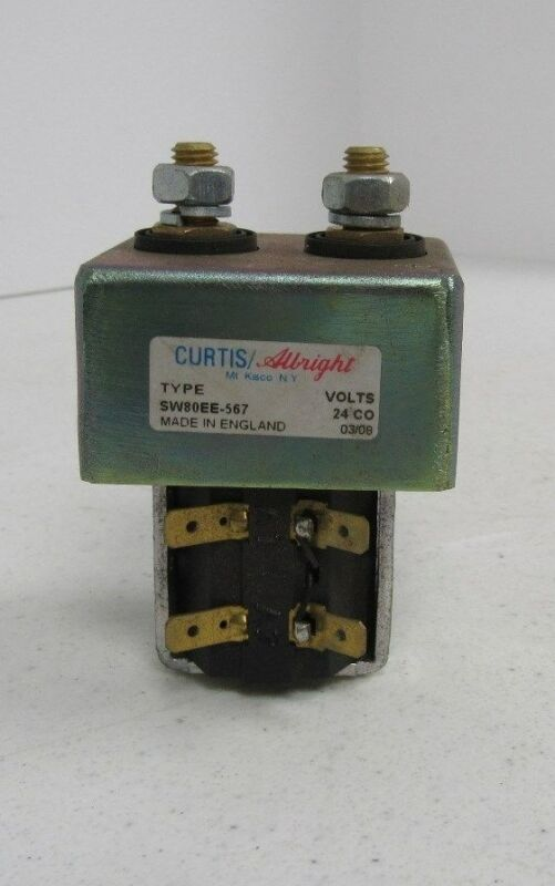 CURTIS ALBRIGHT SW80EE-567 CONTACTOR (USED)