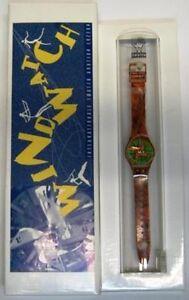 Swatch special Wind Watch Auction Luzern 1993 verde - Italia - Swatch special Wind Watch Auction Luzern 1993 verde - Italia