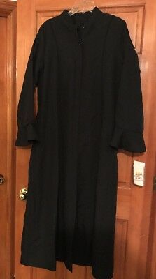 New Tags Women's Murphy Robe Miriam Black Minister Clerical Pulpit Church $339