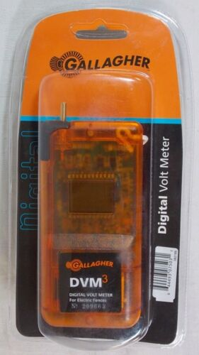 NEW GALLAGHER DIGITAL VOLT METER DVM3