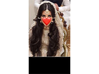 Asian wedding dress! Fits size 8/10