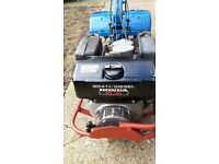 GD411 Diesel Heavy Duty Rotovator.. 9.0hp Honda Diesel Engine.. 2x Rotovator Box's + Spare Parts
