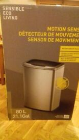 Brand New, unused in original box, 80 L Sensible Eco Living Motion Sensor Bin