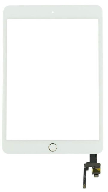 iPad Mini 3 3rd Gen A1599 A1600 A1601 Touch Screen Digitizer + IC & Button