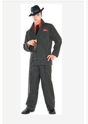 COSTUMES GANGSTER MOB MEN HALLOWEEN COSTUME X-LARGE