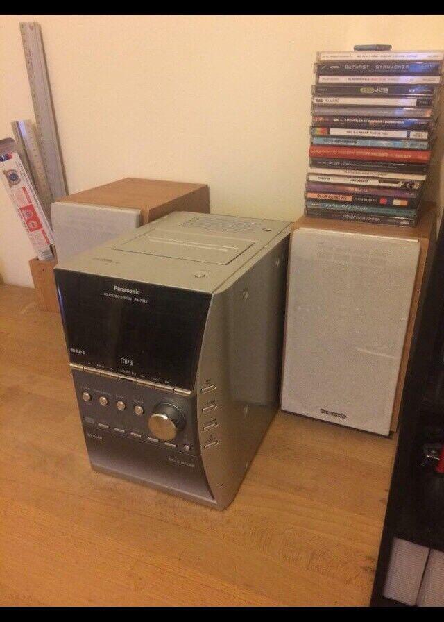 (Available 23/3) Panasonic CD Stereo System SA-PM31