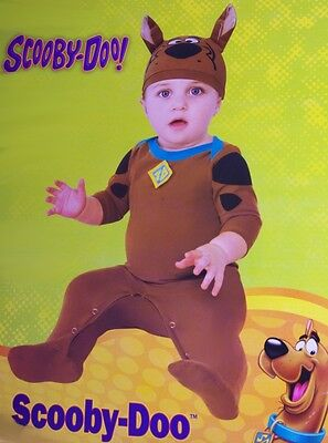Baby Infant Scooby Doo Halloween Costume Outfit Hat Dog 6 12 18 Months - Scoobydoo Baby Kostüm
