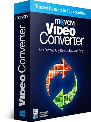Movavi Video Converter, DVD & 180+ media file formats, avi, wmv, MP4, FLV, MKV