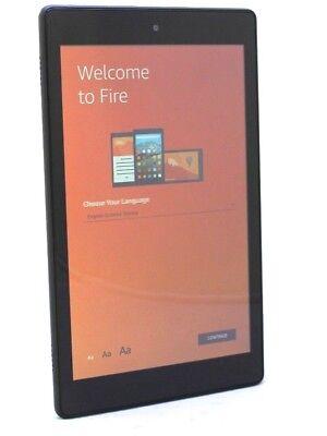 Amazon Kindle Fire HD8 8th Generation 16GB -(SCRATCHES) Black 28-2B