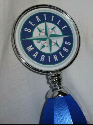 Vintage SEATTLE MARINERS Baseball MLB Bud Light Beer Tap Handle Safeco Field