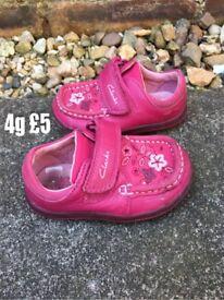 Clark's size 4g shoes
