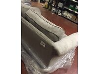 Next home grey two seater sofa