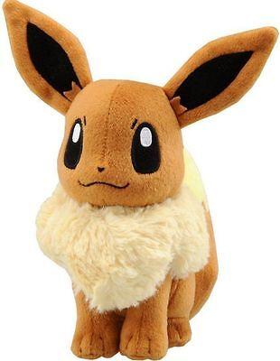 New Pokemon Pocket Monster Eevee Plush Toys Soft Stuffed Doll Gift 20cm