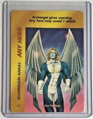 Overpower Guardian Angel Any Hero Promo Rare Marvel