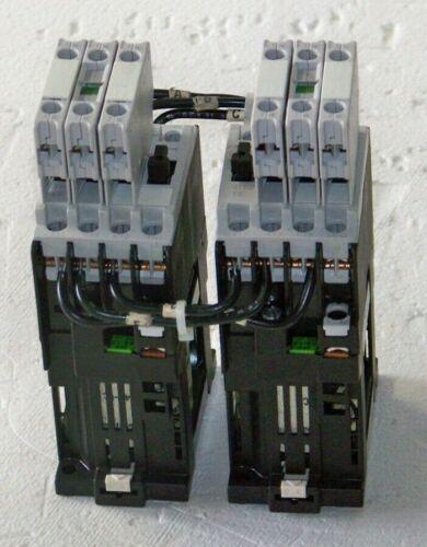 CRLOF3122 Siemens reversing contactor 24 volt dc will inter lock electrically