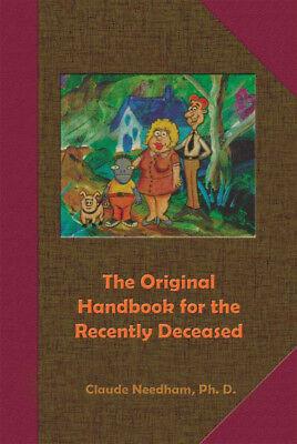 Original Handbook For The Recently Deceased  Claude Needham Beetlejuice Humor