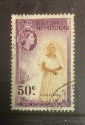 BRITISH HONDURAS 1953-1962 DEFINS SG187 USED