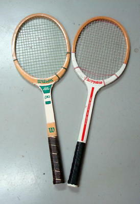Wilson Jack Kramer Pro And Winfield Tennis Rackets for sale  Shipping to India