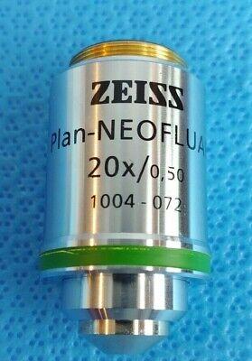 Zeiss Plan-neofluar 20x 0.50 Microscope Objective Infinity0.17