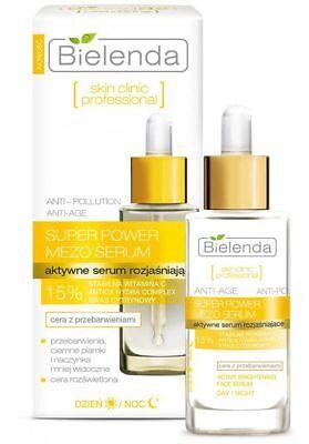 Bielenda Skin Clinic 15% Vitamin C Serum Face Brightening Discoloration 30ml