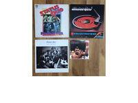 Vintage genuine Status Quo vinyl Albums & single / x3 Queen singles (see photos)