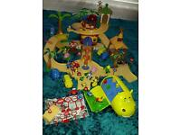 Jungle junction playset