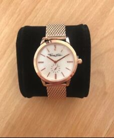 Thomas sabo womens rose gold watch brand new in the box and gift bag