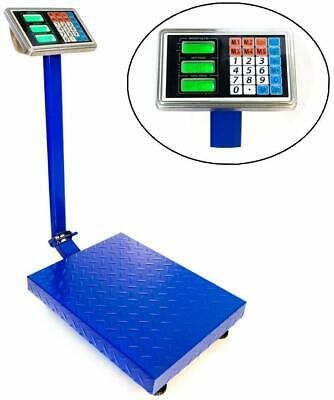 300kg661lbs Capacity Electronic Platform Scale Lcd Digital Folding Postal Scale