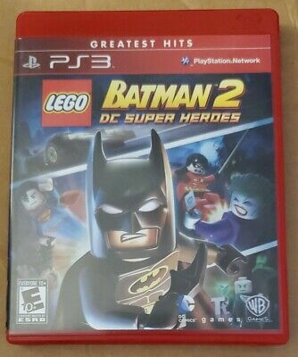 LEGO Batman 2: DC Super Heroes (Sony PlayStation 3, 2012) PS3 game FAST SHIPPING