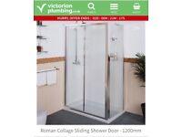 Roman collage shower sliding doors