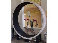Cazami Ferris exercise wheel black & white rrp £408 New BNIB