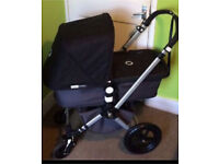 Stylish Bugaboo Cameleon 2 in Black with extras